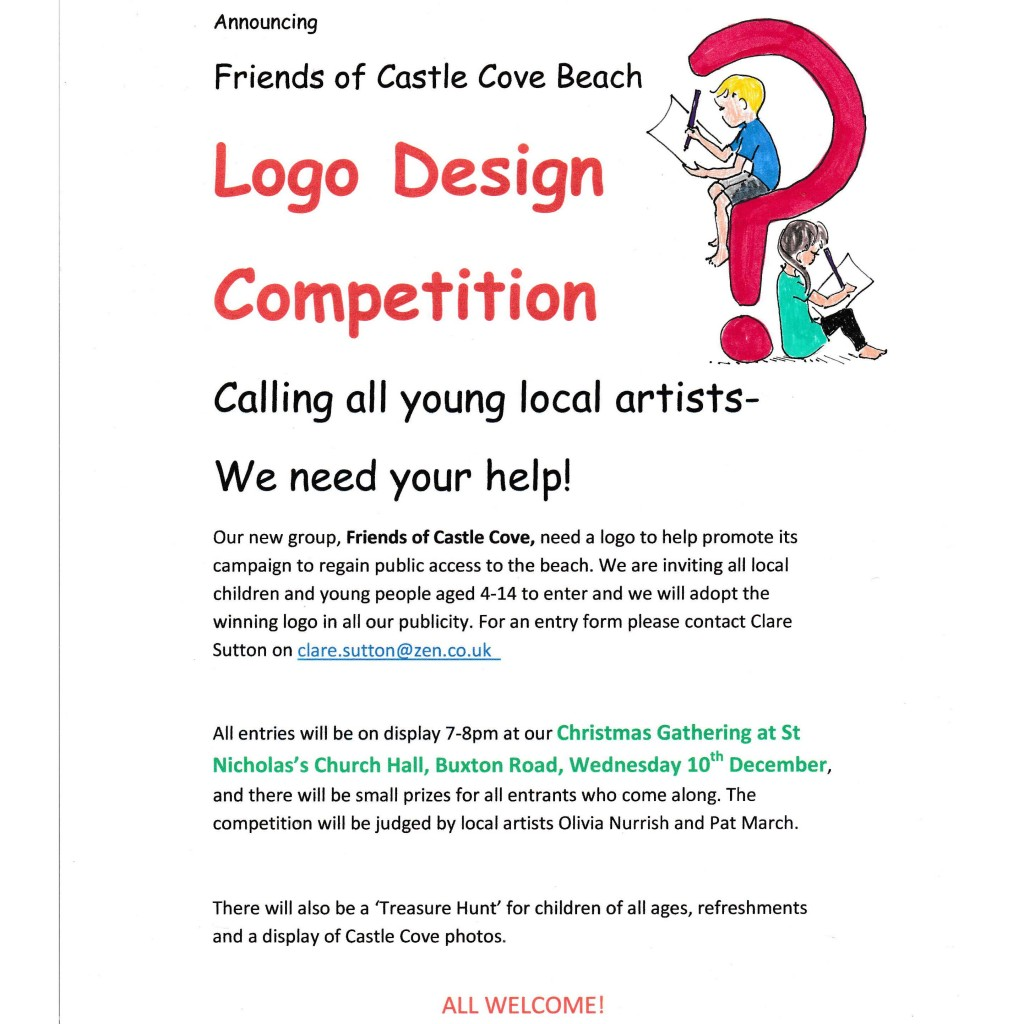 Logo design competition sandsfoot castle the rodwell trail Logo design competitions