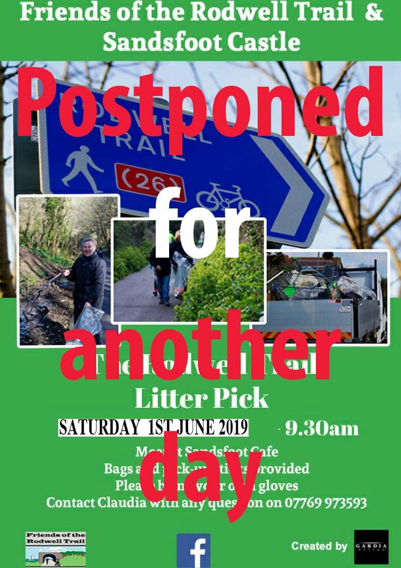 cancel Litter Pick - June 2019